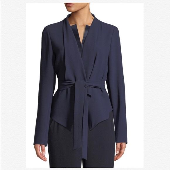 Elie Tahari Jackets & Blazers - 🌸 NEW Elie Tahari Jenn Tie-Waist Jacket GORGEOUS